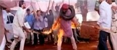 Sikhs were burnt with tires around their necks, who supplied the hindu's?