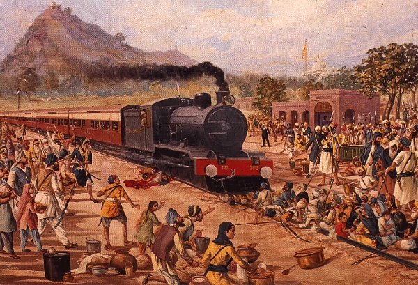 1922 Train Massacre Morcha Punja Sahib