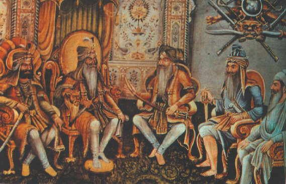 Picture of Sikh nobles