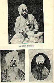 The Founders of the Singh Sabha